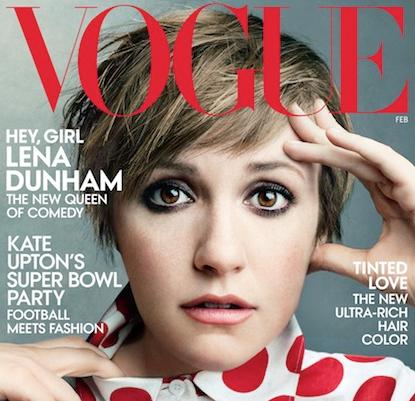 Lena Dunham's Vogue Cover Controversy