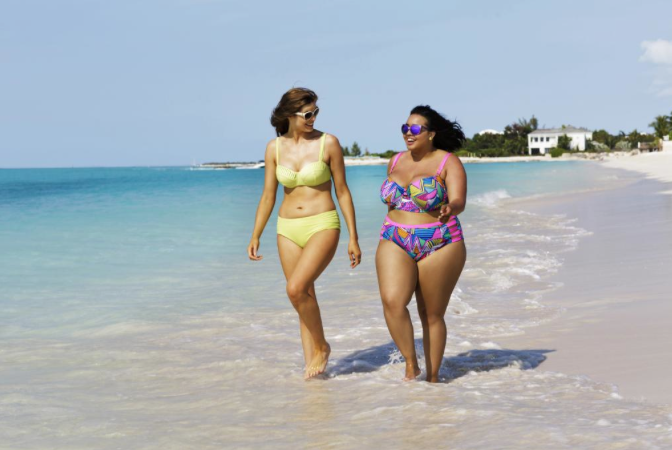 Body-Talk: Jenny Trout Wore Bikini to Beach, Chaos Did Not Ensue