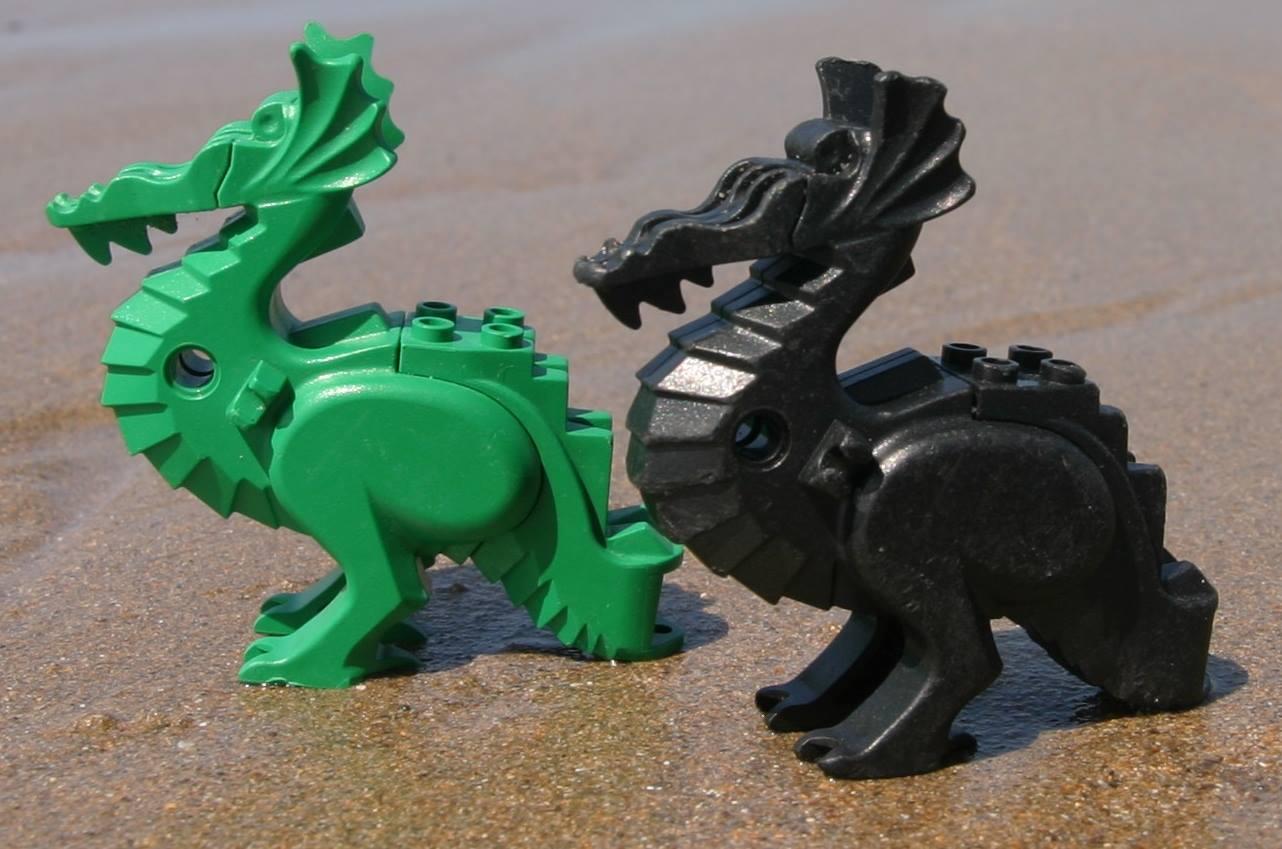 The Beach of LEGOs