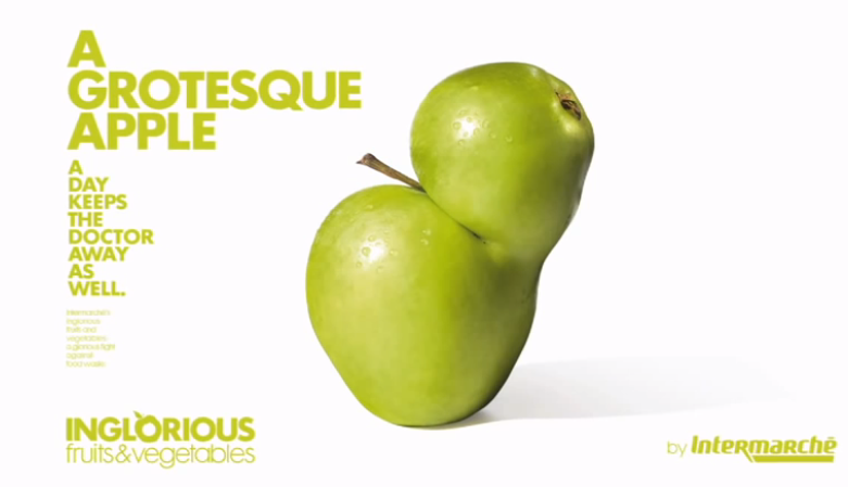 Intermarche Raises Awareness about Food Waste in an 'Inglorious' Way