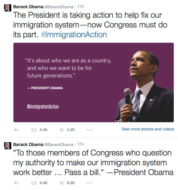 Obama on Twitter