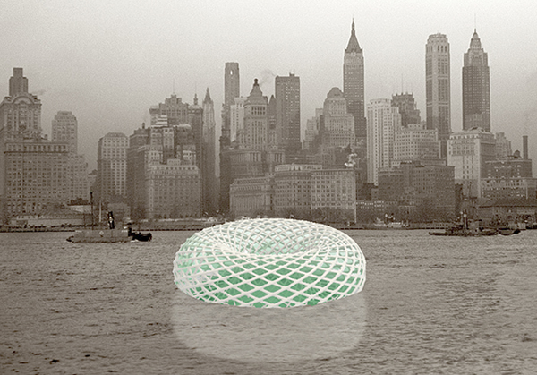 Floating Food Island Grows in New York Harbor