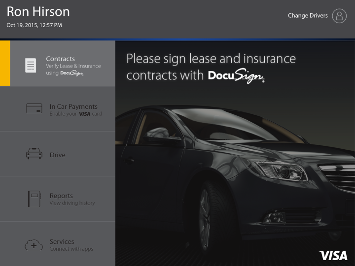 Here's How DocuSign and Visa Want You to Rent a Car in the Future