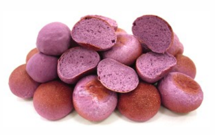 An image of the healthy purple bread.