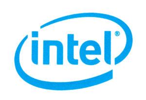 Intel's logo.
