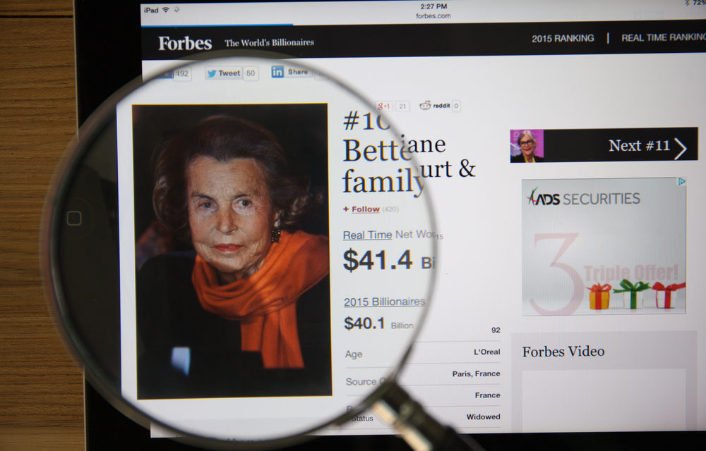 About Liliane Bettencourt, The Wealthiest Woman in the World