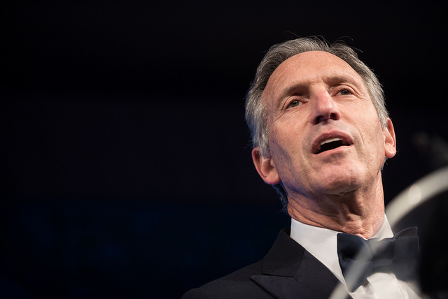 President Trump Insults Potential 2020 Contender Howard Schultz