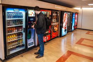 'Unhealthy' snacks in vending machines are now banned on school grounds. Deymos Photo / Shutterstock.com