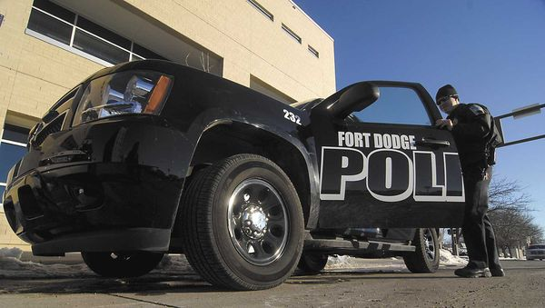 Fort Dodge, Iowa Police Department will donate a portion of parking fines to charity during October.