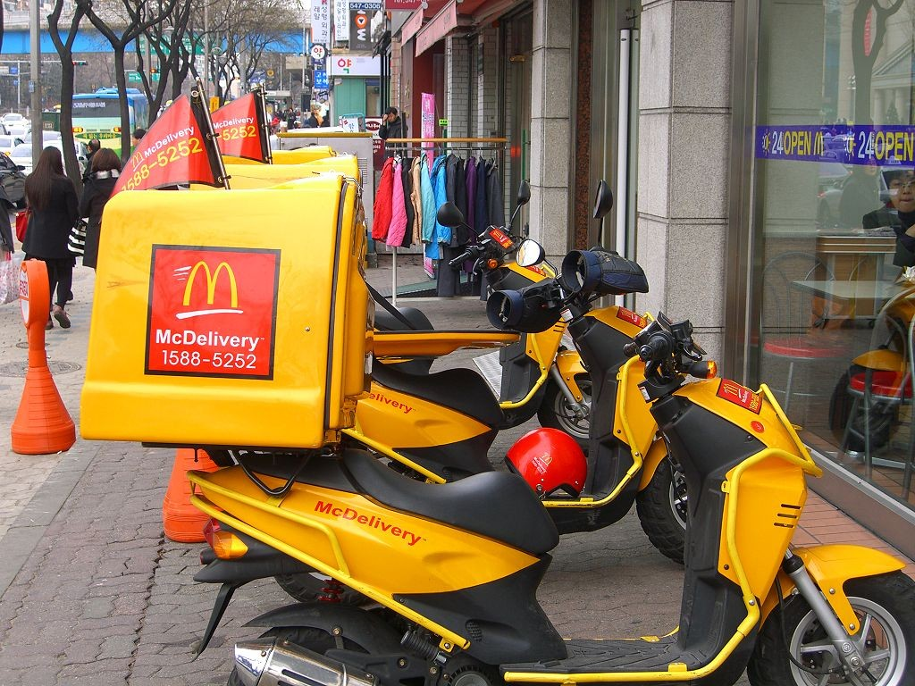 Uber, Amazon, and even McDonald's are competing for customers in the growing food delivery industry.