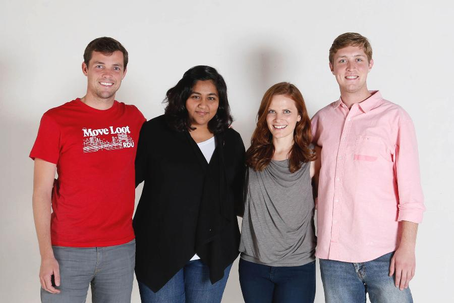 Bill Bobbitt, 27, Shruti Shah, 27, Jenny Morrill, 27, Ryan Smith, 27 Co-founders of Move Loot, an online furniture-selling platform, were included in Forbes 30 Under 30 picks for millennials innovating e-commerce this year.
