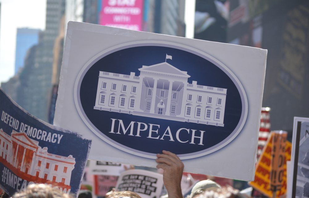Trump Impeached for the Incitement of a Violent Coup Attempt Against the Federal Government